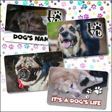 Personalised Pet Dog Cat Keepsake Card Wallet Purse Gift Memory Mothers Day