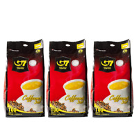G7 3 In 1 Instant Coffee 100 sticks   Roasted Ground Coffee  Pack Of 3