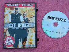 Hot Fuzz (DVD, 2007, Full Frame) Disc and Case - Used