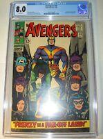 Avengers #30 CGC 8.0, VF, White pages,1966, Swordsman, Black Widow & Power Man