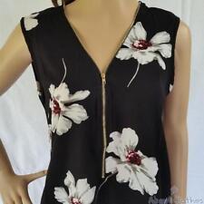 Polyester Sleeveless Y-Neckline Tops & Blouses for Women