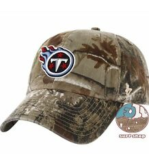6ccaae79f10191 New NFL Tennessee Titans Camo Clean Up Mens Adjustable Realtree Cap Hat