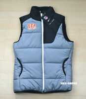 Nike Women's Cincinnati Bengals Black Grey White Orange Vest New 748457-063