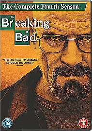 Breaking Bad - Series 4 - Complete (DVD, 2012, 4-Disc Set, Box Set)