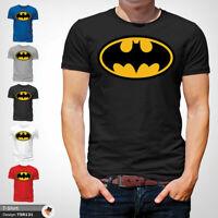 Batman Symbol T Shirt Mens Tshirt Black T-Shirt Logo Large Cotton XXL 3XL
