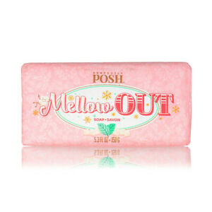 """Perfectly Posh - """"Mellow Out"""" So Soapy Bath Soap Bar (Full Size, New)"""
