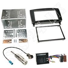 Mercedes SLK-Klasse R171 Radioblende 2-DIN ISO Radio Adapter Antenne Stecker SET