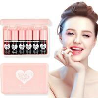 Women 6 Color/Set Matte Lipstick Liquid Long-Lasting Matte Lip Gloss HOT