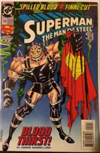 DC Comics Superman The Man Of Steel # 29 1991 NM
