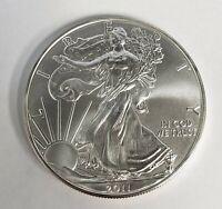 2011 1 oz Silver American Eagle .999 BU Coin