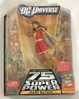 """DC Universe Wave 12 MARY BATSON w/Collector Button 6"""" Action Figure"""