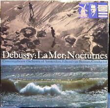 EDUARD VAN BEINUM debussy la mer nocturnes LP VG+ LC 3464 Epic Gold Label 1st