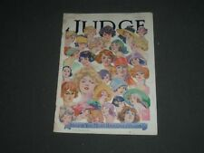 1924 MAY 17 JUDGE MAGAZINE - WELL IF YOU MUST HAVE GIRLS' HEADS! - ST 5450