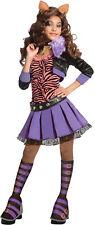 Monster High Clawdeen Wolf Deluxe Child Costume Girls Werewolf Halloween