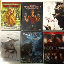 NEW DVD Films * HORROR MOVIES BUNDLE * 6 FILMS *