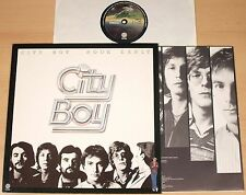 CITY BOY - Book Early  (VERTIGO, NL 1978 + OIS / LP NEAR MINT)