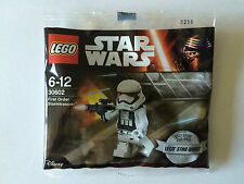 LEGO STAR WARS POLYBAG 30602 FIRST ORDER STORMTROOPER NEUF SCELLER SEALED