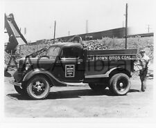 1936 Ford Coal Dump (Dumper) Truck, Brown Brothers, Factory Photo (Ref. # 43265)