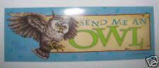 Harry Potter Owl Bird Scrapbook Label Bottle Sticker