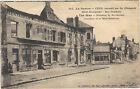 60 - cpa - CREIL - Hôtel rue Gambetta incendié par les Allemands
