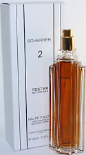 JEAN -LOUIS SCHERRER NO 2 BY SCHERRER 3.3 OZ EDT SPRAY TESTER FOR WOMEN