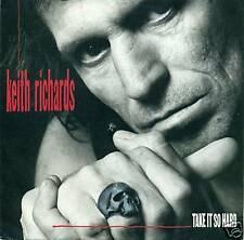 "KEITH RICHARDS - TAKE IT SO HARD 7"" SINGLE (S1141)"