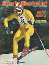 SKIING FRANZ KLAMMER 1976 SPORTS ILLUSTRATED OLYMPIC GOLD 3X WORLD CHAMPION