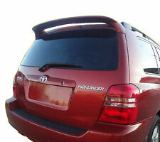 PAINTED TOYOTA HIGHLANDER FACTORY STYLE REAR WING SPOILER 2001-2007