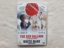 THE RED BALLOON LE BALLON ROUGE WHITE MANE CRIN BLANC BRAND NEW SEALED DVD UK R2