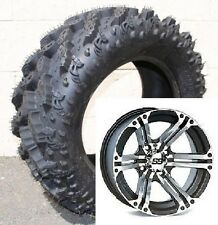 (2) 26-9-12 & (2) 26-11-12 Interco Reptile ATV UTV Tires and wheels ITP SS HD