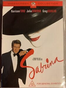 DVD: Sabrina - Drama Romance, a business Tycoon (Harrison Ford) & Love Triangle