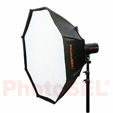 PhotoSEL SBSC200 200cm Octagonal Softbox Bowens S Type Speed Ring Studio Flash