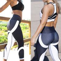 Women Yoga Pants Push Up Stretch Gym Fitness Leggings Sports Running Activewear