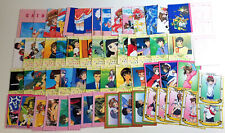 Cardcaptor Sakura Carddass Masters Part 1 Card Lot of 59 Plus 3 Inserts [Ex-Nm]