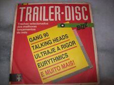 "7"" EP 45 P/S - TALKING HEADS / EURYTHMICS / MARILLION - BRAZIL - BIZZ"
