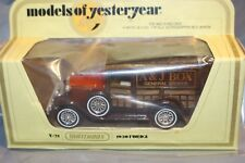 Matchbox models of Yesteryear; 1930 Ford  Model 'A' Y-21 A & J Box General store
