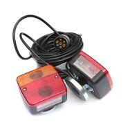 Rücklicht mit Kennzeichenbeleuchtung 2x Anhänger Rücklicht Rückleuchte Magneten