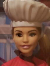 2018/19 Barbie Chef Doll NEW IN THE BOX