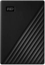 WD Western Digital My Passport Portable External Hard Drive, Black