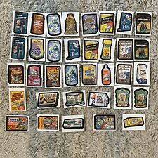 Lot Of 34 2005 Wacky Packages Stickers