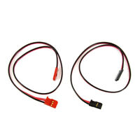 Futaba FSH-65 350mm Male-to-Male Servo Extension 2-Pack