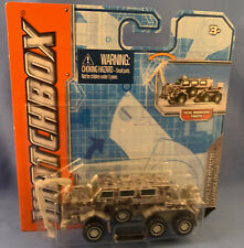 BRAND NEW MATCHBOX 60TH ANNIVERSARY  BUFFALO MINE PROTECTED CLEARANCE VEHICLE