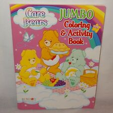 Unused Care Bears Jumbo Coloring Activity Book 2010 Games  Color