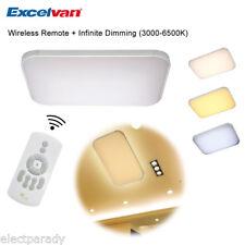 LED 36W sans fil Plafond suspendu Panneau Encastré dimmable Lumière télécommande