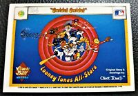 LOONEY TUNES ALL STARS CHARACTERS 1990 UPPER DECK Comic Ball Cards 40 Card Set