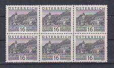 Ö 1929 Große Landschaft ANK 501 Postfrisch ** MNH 6er Block