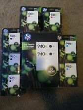 LOT of 9 940XL ink cartridges