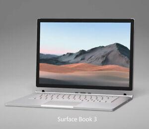 "New Microsoft Surface Book 3 15"" 512GB i7-1065G7 1.3GHz 32GB GTX 1660Ti Laptop"