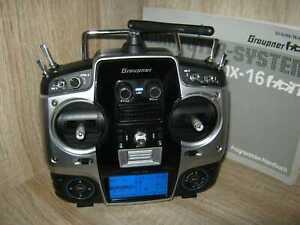 Graupner Sender MX 16  HOTT  2,4 Ghz  mit Akku