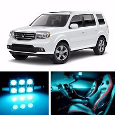 20pcs LED ICE Blue Light Interior Package Kit for Honda Pilot 2009-2015